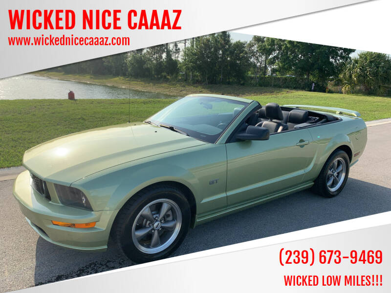 2005 Ford Mustang for sale at WICKED NICE CAAAZ in Cape Coral FL