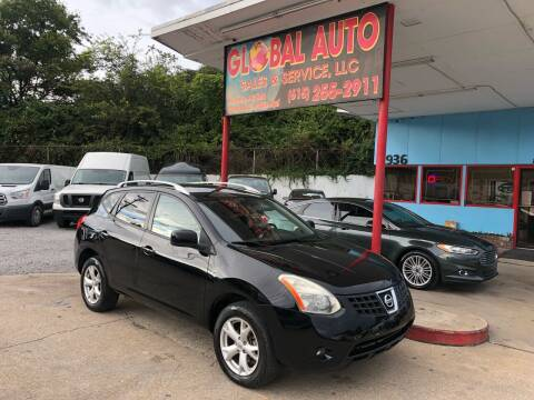 2009 Nissan Rogue for sale at Global Auto Sales and Service in Nashville TN