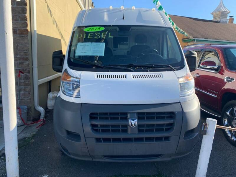 2015 RAM ProMaster Cargo for sale at Park Avenue Auto Lot Inc in Linden NJ