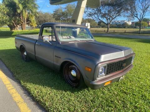 1971 Chevrolet C/K 10 Series for sale at BIG BOY DIESELS in Ft Lauderdale FL
