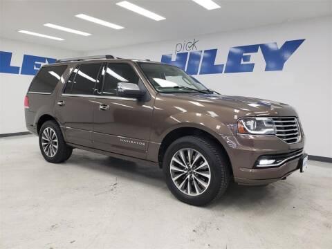 2015 Lincoln Navigator for sale at HILEY MAZDA VOLKSWAGEN of ARLINGTON in Arlington TX