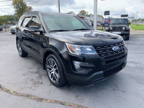 2016 Ford Explorer for sale at Summit Palace Auto in Waterford MI
