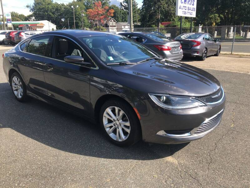 2016 Chrysler 200 for sale at Chris Auto Sales in Springfield MA