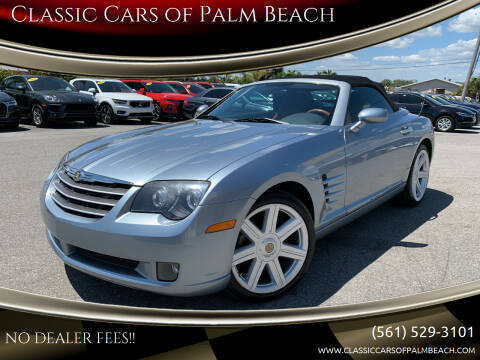 2008 Chrysler Crossfire for sale at Classic Cars of Palm Beach in Jupiter FL