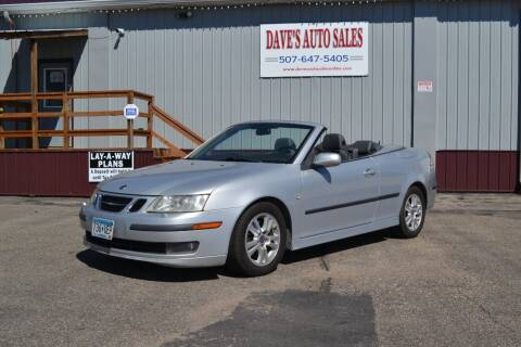 2006 Saab 9-3 for sale at Dave's Auto Sales in Winthrop MN