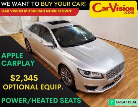 2018 Lincoln MKZ for sale at Car Vision Mitsubishi Norristown in Trooper PA