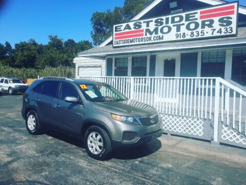2012 Kia Sorento for sale at EASTSIDE MOTORS in Tulsa OK
