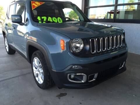 2018 Jeep Renegade for sale at Painter's Mitsubishi in Saint George UT