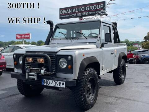 1996 Land Rover Defender for sale at Divan Auto Group in Feasterville Trevose PA