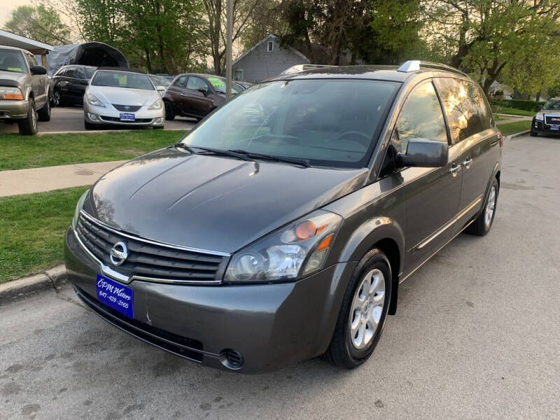 2009 Nissan Quest for sale at CPM Motors Inc in Elgin IL