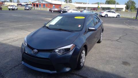 2016 Toyota Corolla for sale at Nelson Car Country in Bixby OK