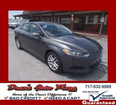 2016 Ford Fusion for sale at Dean's Auto Plaza in Hanover PA