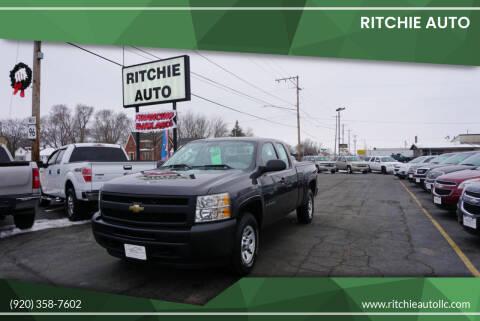 2011 Chevrolet Silverado 1500 for sale at Ritchie Auto in Appleton WI