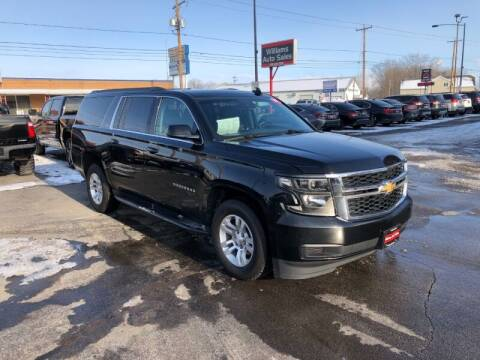2017 Chevrolet Suburban for sale at WILLIAMS AUTO SALES in Green Bay WI