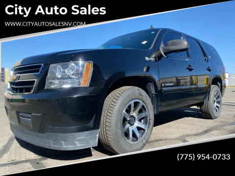2008 Chevrolet Tahoe for sale at City Auto Sales in Sparks NV