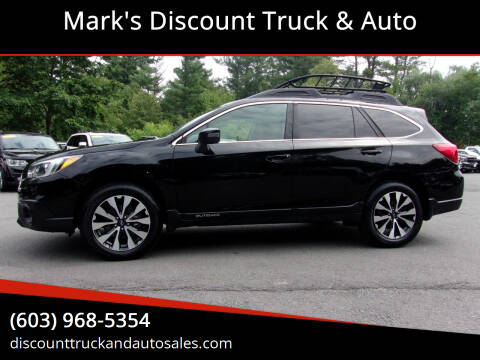 2017 Subaru Outback for sale at Mark's Discount Truck & Auto in Londonderry NH
