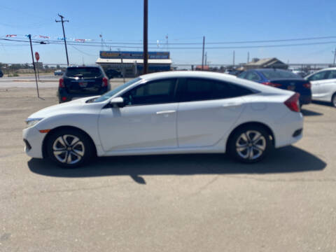 2016 Honda Civic for sale at First Choice Auto Sales in Bakersfield CA