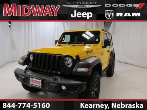 2021 Jeep Wrangler for sale at MIDWAY CHRYSLER DODGE JEEP RAM in Kearney NE