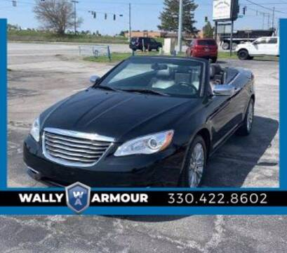2014 Chrysler 200 Convertible for sale at Wally Armour Chrysler Dodge Jeep Ram in Alliance OH