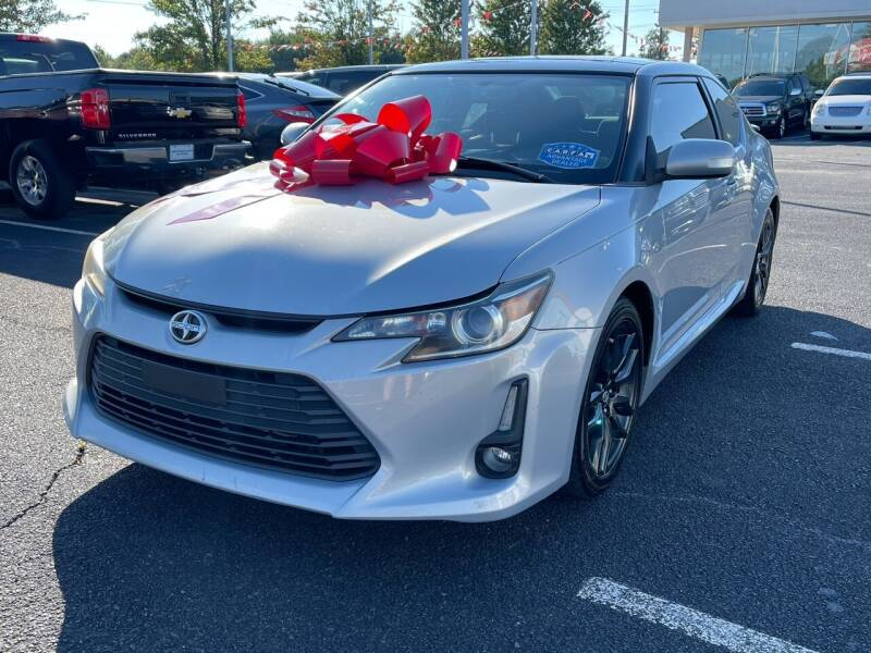 2014 Scion tC for sale at Charlotte Auto Group, Inc in Monroe NC