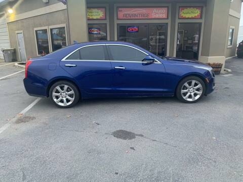 2013 Cadillac ATS for sale at Advantage Auto Sales in Garden City ID