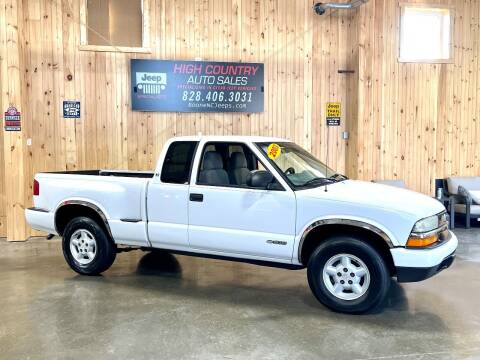 2003 Chevrolet S-10 for sale at Boone NC Jeeps-High Country Auto Sales in Boone NC