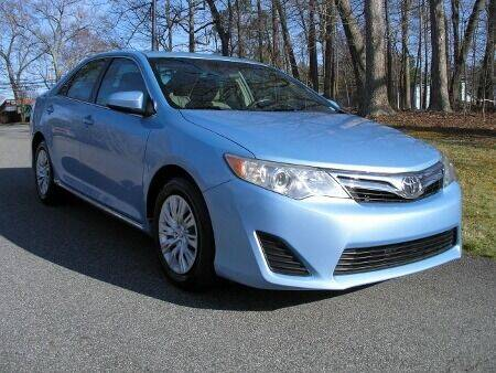 2012 Toyota Camry for sale at RICH AUTOMOTIVE Inc in High Point NC