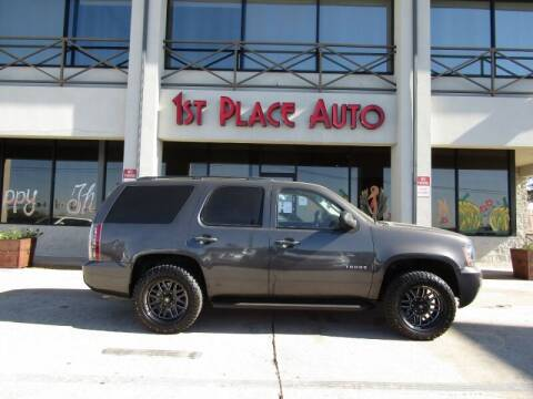 2010 Chevrolet Tahoe for sale at First Place Auto Ctr Inc in Watauga TX