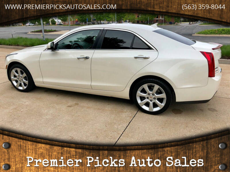 2013 Cadillac ATS for sale at Premier Picks Auto Sales in Bettendorf IA