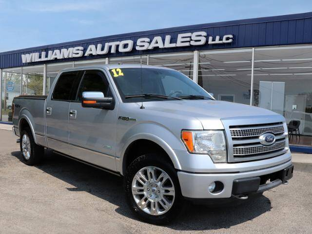 2012 Ford F-150 for sale at Williams Auto Sales, LLC in Cookeville TN