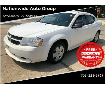 2010 Dodge Avenger for sale at Nationwide Auto Group in Melrose Park IL
