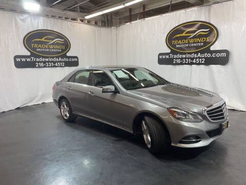 2014 Mercedes-Benz E-Class for sale at TRADEWINDS MOTOR CENTER LLC in Cleveland OH