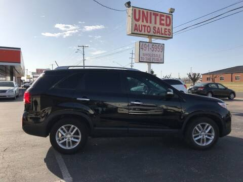 2015 Kia Sorento for sale at United Auto Sales in Oklahoma City OK