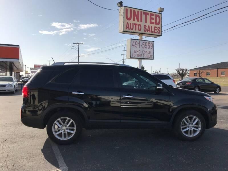 2015 Kia Sorento for sale at United Auto Sales in Oklahoma City OK