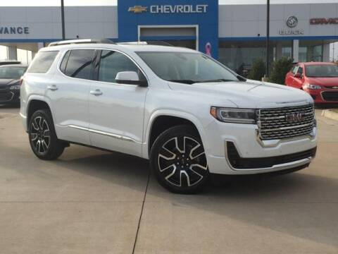 2021 GMC Acadia for sale at Vance Fleet Services in Guthrie OK