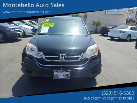 2011 Honda CR-V for sale at Montebello Auto Sales in Montebello CA