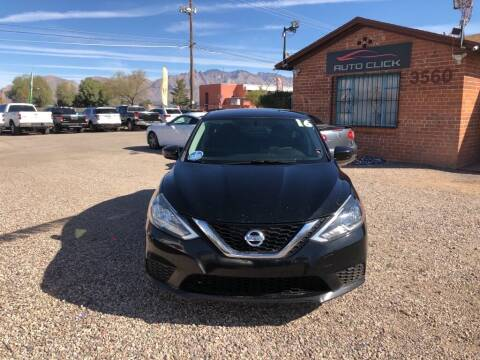 2016 Nissan Sentra for sale at Auto Click in Tucson AZ