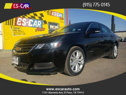 2017 Chevrolet Impala for sale at Escar Auto in El Paso TX