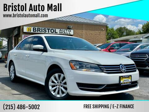2014 Volkswagen Passat for sale at Bristol Auto Mall in Levittown PA