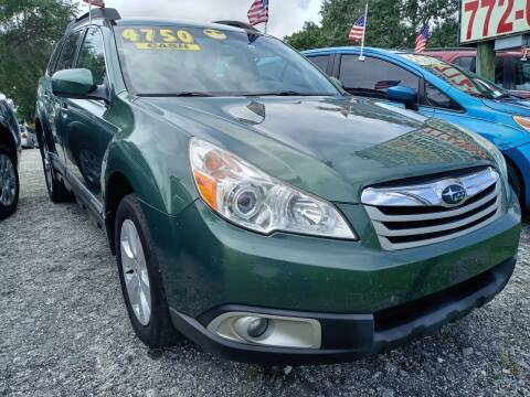 2010 Subaru Outback for sale at AFFORDABLE AUTO SALES OF STUART in Stuart FL