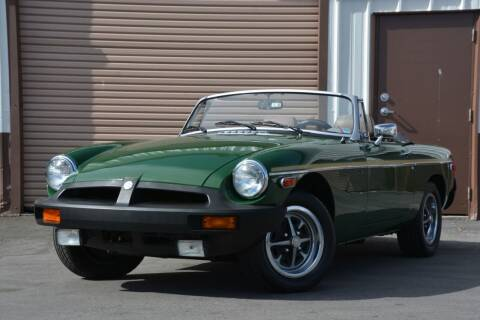1979 MG MGB for sale at Milpas Motors in Santa Barbara CA