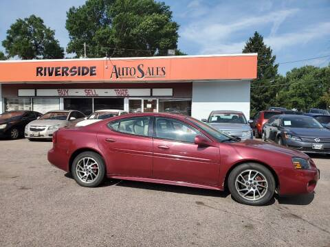 2004 Pontiac Grand Prix for sale at RIVERSIDE AUTO SALES in Sioux City IA