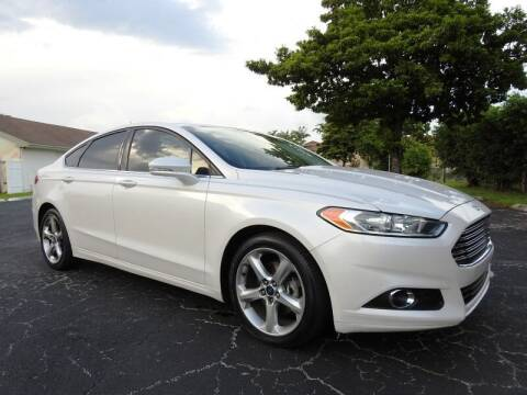 2015 Ford Fusion for sale at SUPER DEAL MOTORS 441 in Hollywood FL