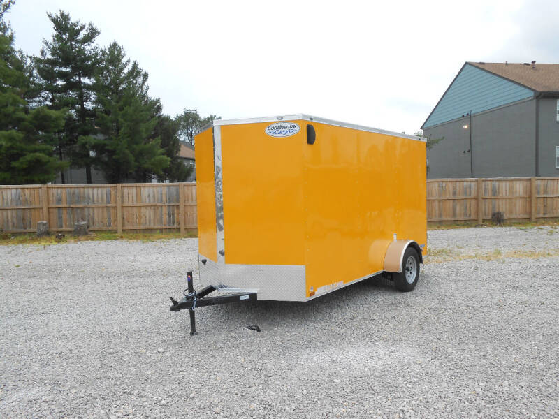 2021 Continental Cargo V-Series 6x12 for sale at Jerry Moody Auto Mart - Trailers in Jeffersontown KY
