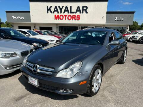 2010 Mercedes-Benz CLS for sale at KAYALAR MOTORS in Houston TX