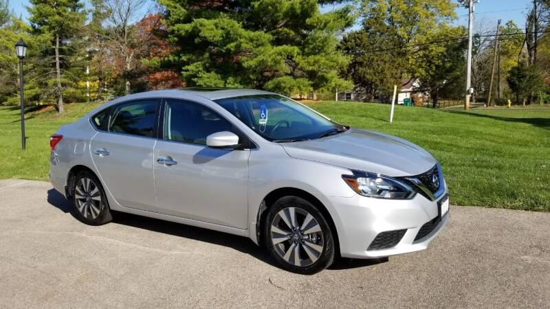 2019 Nissan Sentra for sale at Burhill Leasing Corp. in Dayton OH