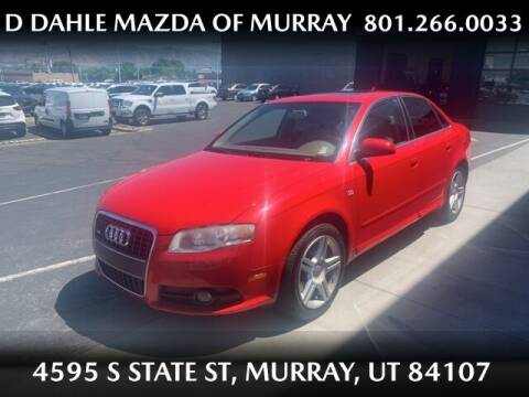 2008 Audi A4 for sale at D DAHLE MAZDA OF MURRAY in Salt Lake City UT
