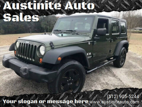 2007 Jeep Wrangler Unlimited for sale at Austinite Auto Sales in Austin TX