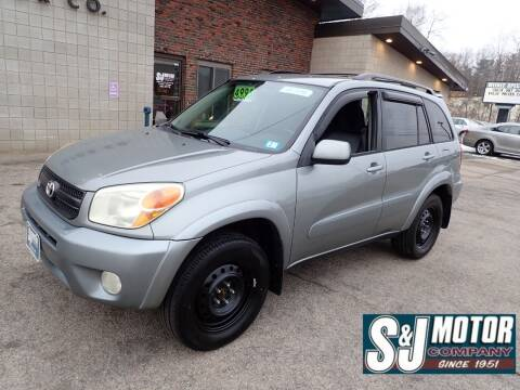2004 Toyota RAV4 for sale at S & J Motor Co Inc. in Merrimack NH