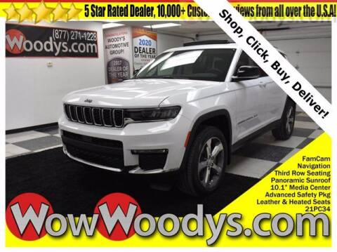 2021 Jeep Grand Cherokee L for sale at WOODY'S AUTOMOTIVE GROUP in Chillicothe MO